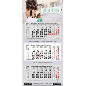 1-7 Monatskalender